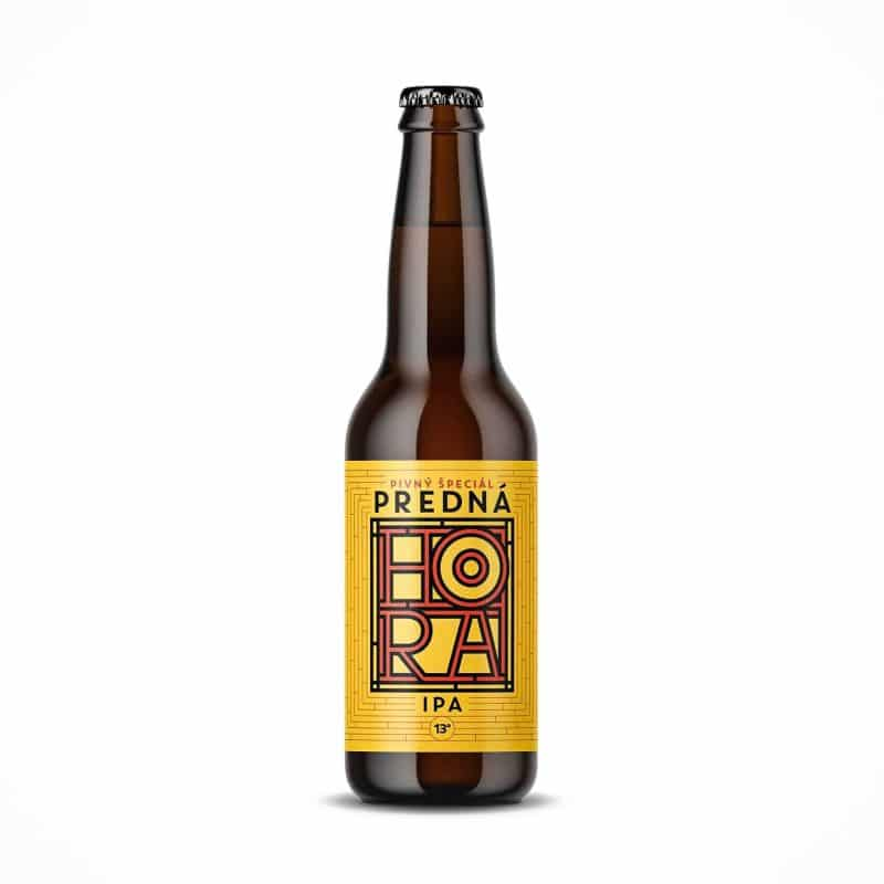Beer label packaging design craft beer IPA Predná Hora