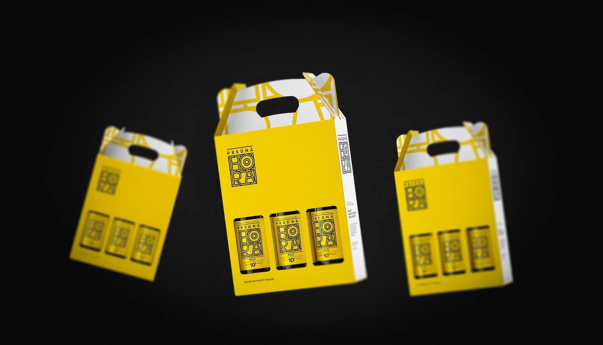 Beer label packaging design craft beer gift packaging Predná Hora 3